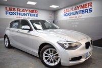 USED 2012 62 BMW 1 SERIES 1.6 116D EFFICIENTDYNAMICS 5d 114 BHP Free Road Tax, Superb MPG, DAB radio, Bluetooth