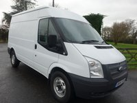 USED 2014 14 FORD TRANSIT 350 MWB Med High 2.2Tdci 100Ps Popular 3.5 Tonne Mwb Med High