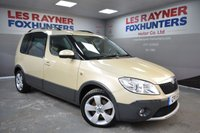 USED 2011 11 SKODA ROOMSTER 1.6 SCOUT TDI CR 5d 103 BHP Rear Park Sensors, Cruise control, Great MPG, Air con