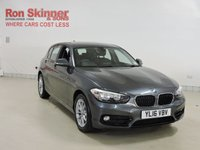 USED 2016 16 BMW 1 SERIES 1.5 116D SPORT 5d AUTO 114 BHP