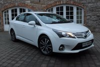 2014 TOYOTA AVENSIS 2.0 D-4D ICON BUSINESS EDITION 4d 124 BHP £8950.00