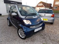 2004 SMART FORTWO 0.7 PASSION SOFTOUCH 2d AUTO 61 BHP £SOLD