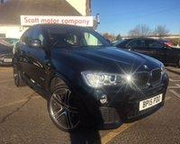 2015 BMW X4 2.0 XDRIVE20D M SPORT 4d AUTO 188 BHP £26500.00