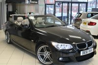 USED 2012 61 BMW 3 SERIES 2.0 320D M SPORT 2d 181 BHP FULL BMW SERVICE HIWSTORY + OYSTER CREAM LEATHER SEATS + PRO SAT NAV + BLUETOOTH + XENON HEADLIGHTS + HEATED FRONT SEATS + REAR PARKING SENSORS + CRUISE CONTROL + 18 INCH ALLOYS