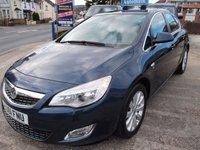 2011 VAUXHALL ASTRA 2.0 SE CDTI 5d AUTO 162 BHP £5995.00