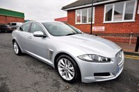 USED 2011 61 JAGUAR XF 2.2 D LUXURY 4d AUTO 190 BHP 7 SERVICES TO 114K MILES + FULL HEATED LEATHER + SAT NAV + REVERSING CAMERA