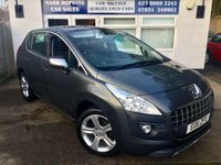 2011 PEUGEOT 3008 2.0 HDI EXCLUSIVE £6995.00