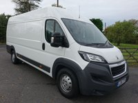 USED 2016 16 PEUGEOT BOXER 435 L4H2 EXTRA LWB HIGHTOP PROFESSIONAL 2.0HDI 130BHP Top Of Range Model Very Clean Example Viewing Highly Recommended!