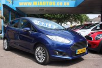 USED 2014 64 FORD FIESTA 1.5 TITANIUM TDCI 5dr 74 BHP LOW MILEAGE | 1 OWNER | SERVICE HISTORY