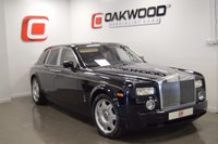 USED 2007 07 ROLLS-ROYCE PHANTOM 6.7 V12 4d AUTO 454 BHP  BLUE WITH FULL CREAM LEATHER