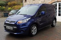 USED 2015 FORD TRANSIT CONNECT 1.6 200 LIMITED P/V 1d 114 BHP REAR PARKING SENSORS - HEATED SEATS