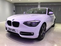 USED 2014 14 BMW 1 SERIES 2.0 116D SPORT 5d 114 BHP 1 OWNER FROM NEW + £30 PER YEAR ROAD TAX