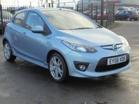 USED 2008 08 MAZDA 2 1.5 SPORT 5d 102 BHP FULL DEALER HISTORY 7 STAMPS, 2 KEYS, 12 MONTHS MOT, EXECELLENT CONDITION.