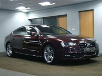 USED 2013 63 AUDI A5 2.0 SPORTBACK TDI S LINE 5d 177 BHP EXCLUSIVE EDT