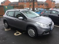 USED 2014 64 PEUGEOT 2008 1.6 E-HDI ACTIVE FAP 5d AUTO 92 BHP WITH AIR CONDITIONING, AUX/USB AND MEDIA!!..EXCELLENT FUEL ECONOMY!!..LOW CO2 EMISSIONS..£0 ROAD TAX...FULL HISTORY..ONLY 9334 MILES FROM NEW!!