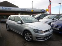 2013 VOLKSWAGEN GOLF 1.6 SE TDI BLUEMOTION TECHNOLOGY 5d 103 BHP £9999.00