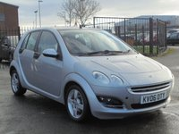 USED 2006 06 SMART FORFOUR 1.1 PASSION RHD 5d 74 BHP 5 MAIN DEALER STAMPS, 2 KEYS, LOW MILEAGE, EXECELLENT CONDITION.