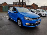 USED 2014 64 VOLKSWAGEN POLO 1.0 SE 5d 60 BHP WITH AIR CONDITIONING, ALLOY WHEELS AND AUX/USB!!..EXCELLENT FUEL ECONOMY!!..LOW CO2 EMISSIONS..£20 ROAD TAX..FULL HISTORY..ONLY 9228 MILES FROM NEW!!