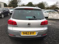 USED 2013 63 VOLKSWAGEN TIGUAN 2.0 ESCAPE TDI BLUEMOTION TECHNOLOGY 4MOTION 5d 138 BHP