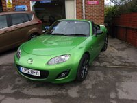 2012 MAZDA MX-5 2.0 I ROADSTER SPORT BLACK 2d 158 BHP LIMITED EDITION 16 OF ONLY 500 £9995.00