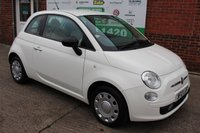 USED 2012 12 FIAT 500 1.2 POP 3d 69 BHP +Just Serviced with A FULL MOT