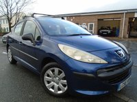 USED 2006 56 PEUGEOT 207 1.4 S 5d 88 BHP GREAT VALUE+MOT MAY 2018
