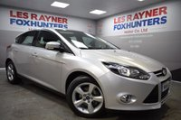 USED 2014 14 FORD FOCUS 1.0 ZETEC NAVIGATOR 5d 99 BHP Full Ford Service History, 1 owner, Bluetooth, heated windscereen