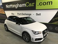 USED 2014 14 AUDI A1 TFSI S LINE STYLE EDITION