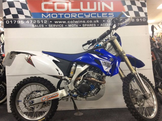 View our YAMAHA WR250