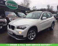 USED 2014 64 BMW X1 2.0 XDRIVE20D SE 5d AUTO 181 BHP