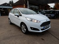 USED 2014 64 FORD FIESTA 1.0 ZETEC 5d 99 BHP FULL FORD HISTORY,BLUETOOTH,AIR CON,CHEAP TO RUN