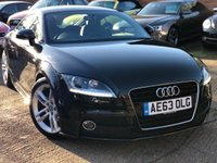 USED 2013 63 AUDI TT 1.8 TFSI S LINE 2d AUTO 158 BHP 1 Owner, Full service history, over £4k options.