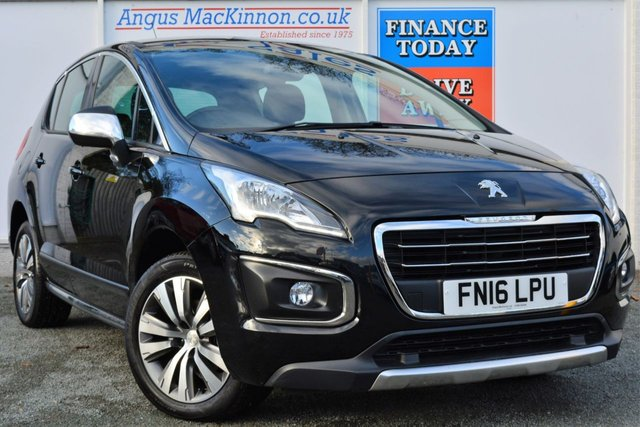 2016 16 PEUGEOT 3008 1.6 BLUE HDI S/S ACTIVE 5d AUTO 120 BHP