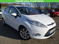 USED 2011 11 FORD FIESTA 1.4 ZETEC 16V 5d 96 BHP ONE LADY OWNER, LOW MILEAGE, ALLOYS, AIR CON, FULL SERVICE HISTORY, SPARE KEY