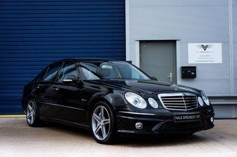 2008 MERCEDES-BENZ E CLASS 6.2 E63 AMG 4d 507 BHP £SOLD