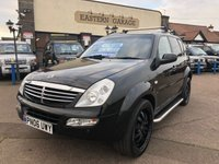 USED 2006 06 SSANGYONG REXTON 2.7 RX 270 SX 7 TD 5d AUTO 163 BHP