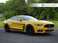 2016 FORD MUSTANG 5.0 GT 2d 410 BHP £35995.00