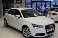 USED 2011 60 AUDI A1 1.4 TFSI SPORT 3d 122 BHP BLUETOOTH + CRUISE CONTROL + 16 INCH ALLOYS + FRONT SPORT SEATS + AIR CONDITIONING