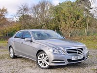 USED 2011 11 MERCEDES-BENZ E CLASS 2.1 E220 CDI BLUEEFFICIENCY AVANTGARDE 4d AUTO 170 BHP