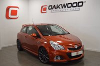 USED 2012 12 VAUXHALL CORSA 1.6 VXR NURBURGRING EDITION 3d 202 BHP SERVICE HISTORY