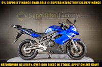 USED 2009 59 KAWASAKI ER-6F 650CC GOOD BAD CREDIT ACCEPTED, NATIONWIDE DELIVERY,APPLY NOW