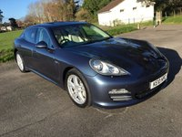 USED 2010 10 PORSCHE PANAMERA 4.8 4S PDK 5d AUTO 400 BHP TOP SPEC WITH  SPORTS CHRONO PACK SAT NAV ELECTRIC SUNROOF PARK DISTANCE HEATED SEATS HEATED STEERING WHEEL WITH FSH