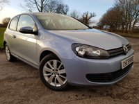 USED 2010 10 VOLKSWAGEN GOLF 1.6 SE TDI 3d 1 FORMER KEEPER