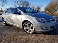 USED 2012 61 VAUXHALL ASTRA 2.0 SRI CDTI S/S 5d NEW SHAPE & EXTRAS