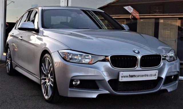 2012 62 BMW 3 SERIES 2.0 320D M SPORT 4d 181 BHP