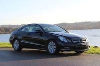 2010 MERCEDES-BENZ E CLASS 2.1 E220 CDI BLUEEFFICIENCY SE 2d AUTO 170 BHP £9990.00