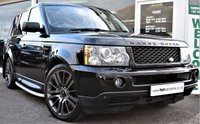 USED 2007 57 LAND ROVER RANGE ROVER SPORT 2.7 TDV6 SPORT HSE 5d AUTO 188 BHP REAR HEAD-REST DVD'S