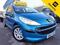 USED 2007 07 PEUGEOT 207 1.4 S 3d 73 BHP! p/x welcome! 2 F/KEPPERS! LOW MILES! AIR-CONDITIONING! GOOD SERVICE HIST! CHEAP INSURANCE! NEW MOT & SERVICE! EX-CONDITION! 2F/KEEPERS+AIR-CON+LOW MILES+GOOD SRVC HIST+CHEAP INSURANCE+NEW MOT & SERVICE+EX-CONDITION!