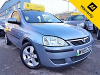 USED 2005 05 VAUXHALL CORSA 1.0 ENERGY 3d 60 BHP! p/x welcome! 65K MILES ONLY! AIR-CONDITIONING! CHEAP INSURANCE! AUX INPUT! ALLOY WHEELS! NEW MOT & SERVICE! EX-CONDITION! 65K MILES ONLY! AIR-CONDITIONING! AUX INPUT! CHEAP INSURANCE! NEW MOT & SERVICE! EX-CONDITION!
