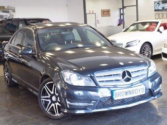 2013 MERCEDES-BENZ C CLASS 2.1 C220 CDI BLUEEFFICIENCY AMG SPORT PLUS 4d AUTO 168 BHP £13990.00